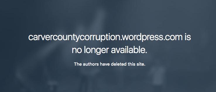 Facing potential civil litigation in Rucki case, owner deletes blog