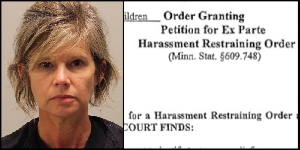Dede Evavold violates both restraining order and probation