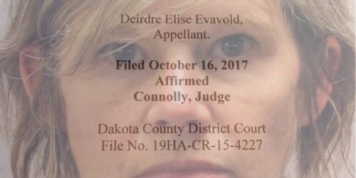 Dede Evavold loses appeal of her criminal conviction