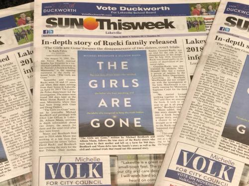 In the news: 'In-depth story of Rucki family hits bookshelves'