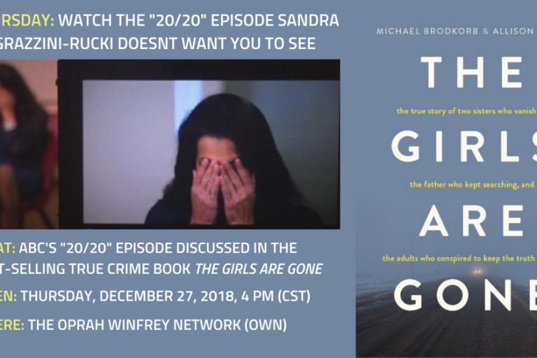 Thursday: ABC's '20/20′ episode about Sandra Grazzini-Rucki