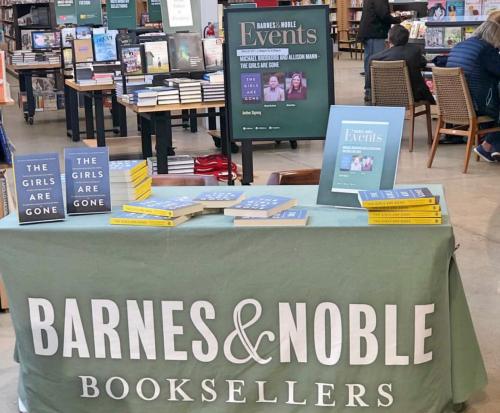 Book event on Saturday at Barnes & Noble in Edina